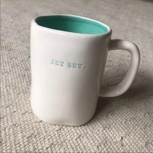 Rae Dunn Jet Set Mug